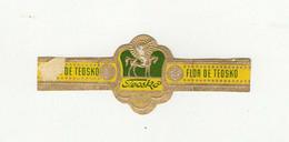 BAGUES DE CIGARES  1 EX.   TEOSKO  FLOR DE TEOSKO - Bauchbinden (Zigarrenringe)
