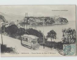 MONACO ... Tram Route De Nice à Menton (Giletta 816) Tramway - Otros