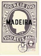 CARTE MAXIMUM PORTUGAL MADEIRA 1980 - Madeira