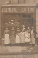 75 - Paris Et Banlieue - 7 ème - Carte Photo-J.LANDON - Crèmerie-Fruiterie - 3 Rue Las Cases - N°1 .Sublime Cliché Animé - Other