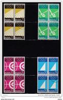 Duitsland 1972 Nr 450/453 In Blok Van 4 **/G, Zeer Mooi Lot 2849 - Collections (without Album)
