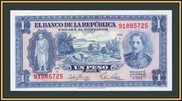 Colombia 1 Pesos 1953 P-398 UNC - Kolumbien