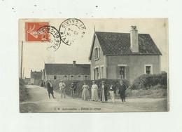 62 - AUDRESSELLES - Entrée Du Village Animé Bon état - Altri Comuni