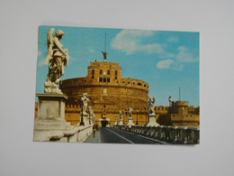 ROMA  -  ROME  -  Pont Et Château Saint Ange  -   Italie - Castel Sant'Angelo
