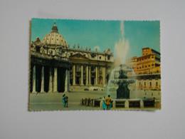 ROMA  -  ROME  -  Saint Pierre  -  Fontaine  -   Italie - Castel Sant'Angelo