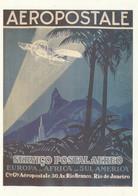 "CPM "" AEROPOSTALE  - SERVICO POSTAL AERO - EUROPA - AFRICA - SUL AMERICA "" - Postal Services"
