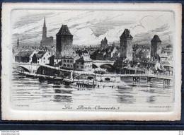 67 -Strasbourg - Les Ponts Couverts(Eau Forte De CH.Pinet) - Straatsburg