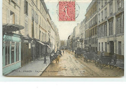 PARIS IX - La Rue De Londres - CM N°675 - District 09
