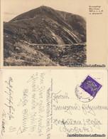 Postcard Krummhübel Karpacz Schneekoppe Mit Aupaquelle 1942 - Schlesien