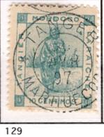 Ex Colonie Française * Maroc  Postes Locales *  129 Oblitéré - Poste Locali