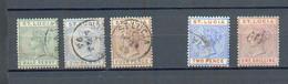B 243 - Ste Lucie - YT 25-27-28-32-34 ° Obli - St.Lucia (...-1978)
