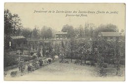 Belgique - BOUSSU-LEZ-MONS - 1CP Pensionnat De La Sainte-Union - Jardin - - Boussu