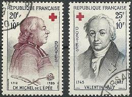 FRANCE - Année 1959 - Y&T N° 1226-1227 Oblitéré TB - Oblitérés