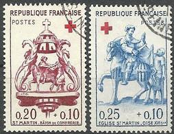 FRANCE - Année 1960 - Y&T N° 1278-1279 Oblitéré TB - Gebruikt