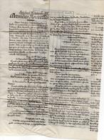 FRANCE : DEPECHE DE L'AGENCE HAVAS . NEUVE . 26/09/1870 . - Krieg 1870