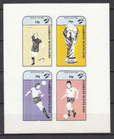 Soccer / Football / Fussball - WM 1982: Gairsay  Kbg **, Imperf. - 1982 – Espagne