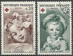 FRANCE - Année 1962 - Y&T N° 1366-1367 Oblitéré TTB - Gebruikt