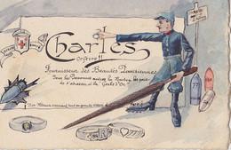 Carte Publicitaire  CHARLES Orfèvre - Publicidad