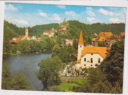 GERMANY - AK 387206 Passau - Ortsteil Hals - St.-Achatius-Kirche Mit Burgruine - Passau