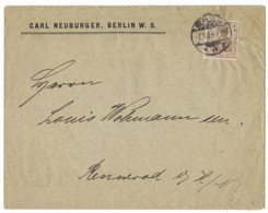 JB220    Brief Aus Berlin 1902 Nach Rennerod - Cartas