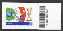 Italia / Italien 2020 SSC Napoli Con Codice A Barre/ Postfrisch Mit Strichkode - Bar Codes