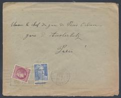 1er Jour Du Tarif à 6F 8 7 1947 718A Gandon 679 Mazelin Flamme Paris Gare D'Austerlitz Mettez N° Arrondissement - Posttarieven