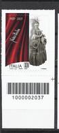 Italia / Italien 2020 Fedora Barbieri Con Codice A Barre/ Postfrisch Mit Strichkode - Bar Codes
