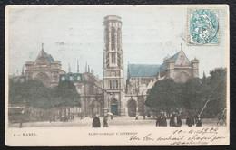75 - PARIS - Eglise Saint-Germain L'Auxerrois - Animée, Colorisée - L'Hoste N°1 - Précurseur - Churches