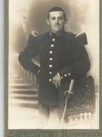 CA /  Vintage / Photo Originale Cartonnée MILITAIRE 17 EME REGIMENT Epée // HATON RAMBERVILLERS Vosges  Uniforme - War, Military