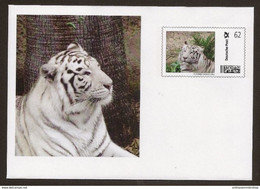 BRD - Deutsche Post - Plusbrief Individuell -  Weißer Tiger (Panthera Tigris) Blanco, Cats - Felini