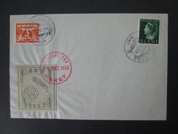 PAYS BAS Feuille ROCKET MAIL 1945 Vol Par Fusée AMSTELVEEN Timbre NETHERLANDS Stamp Cover - Airmail