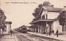 17654 - FAVERNET (Haute Saône) - La Gare - Sonstige Gemeinden