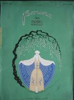 COUVERTURE SEULE MAGAZINE FEMINA AVRIL 1924 : Illustrateur ERTE - Mode