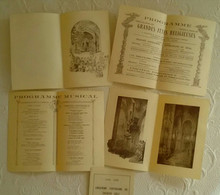 05 Fêtes D' EMBRUN - DEPLIANTS PROGRAMME Vè CENTENAIRE Jacques GELU 1932 Jeanne D'Arc - Embrun