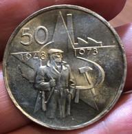 Cecoslovacchia Czechoslovakia  50 Corone 50 KORUN 1973 Vittoria Del Partito  D.1516 - Czechoslovakia
