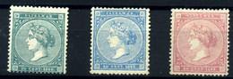 Antillas Españolas Nº 13/15. Año 1868 - Non Classificati