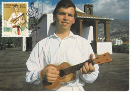 CARTE MAXIMUM PORTUGAL MADEIRA 1985 - Non Classificati