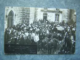 CARTE PHOTO - AMBAZAC - RECONSTITUTION DU VOL DE LA CHASSE - Ambazac