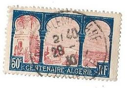 Centenaire De L'Algérie -1930- Yt 263 - Oblitérés