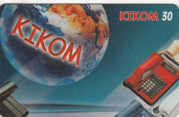 Madagascar - Kikom - Telephone Rouge - Madagascar