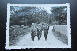 Rare Octobre 1943 Alsace Wangen Défilé Pour Le Sonntagdienst  Des Membres Locaux Du Parti - War, Military