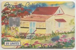 NEW CALEDONIA - Refuge Au Famboyant, CN:C PLUS 8 NUMBERS ,10/94, 25U, Tirage 145.000, Used - Neukaledonien