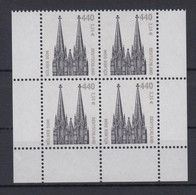 Bund 2206 Eckrand Unten Links + Rechts 4er Block SWK 440 Pf/ 2,25 Postfrisch - Ohne Zuordnung
