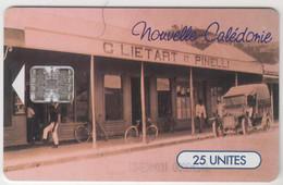 NEW CALEDONIA - Rue Marchande à Nouméa, 06/97, 25U, Tirage 50.000, Used - Neukaledonien