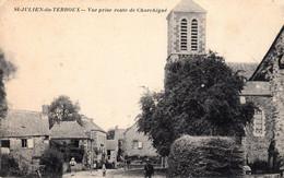 Thematiques 53 Mayenne St Julien Du Terroux Vue Prise Route De Charchigné - Sonstige Gemeinden