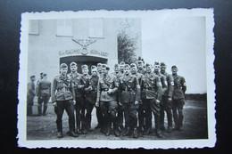 Rare 1943 Alsace  Réunion Des Membres Locaux Du Parti  S A De La Région De Marlenheim Au S A Gruppe Sudwest - War, Military