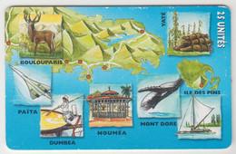 NEW CALEDONIA - Puzzle Calédonien 6/6, 05/99, 25U, Tirage 60.000, Used - Neukaledonien