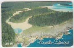 NEW CALEDONIA - Ile Des Pins - La Presqu'île D'Oro, 05/01, 25U, Tirage 40.000, Used - Neukaledonien