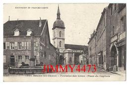 CPA - BAUME-les-DAMES 25 Doubs - Fontaine Des Lions - Place Du Capitole - N° 1080 - Edit. Gaillard Prêtre - Baume Les Dames