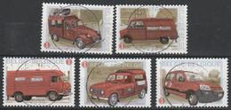 3923/3927 Autos La Poste/Postautos Oblit/gestp Centrale - Gebraucht